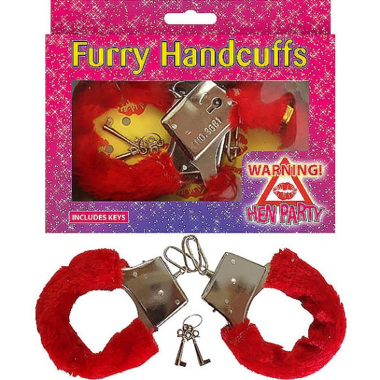 Furry Handcuffs (Red)