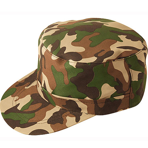 Soft Camo Army Cap