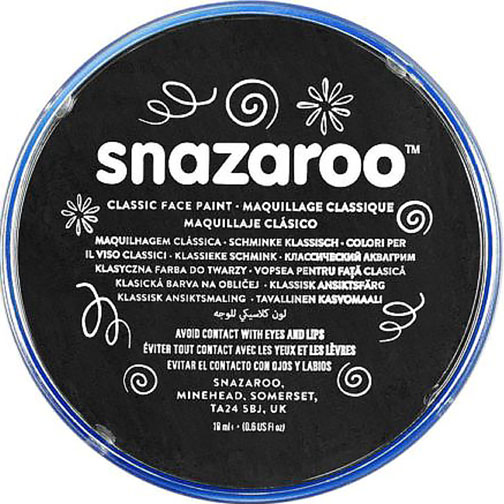 Black Snazaroo Face Paint