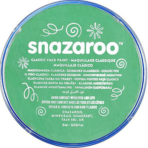 Bright Green Snazaroo Face Paint