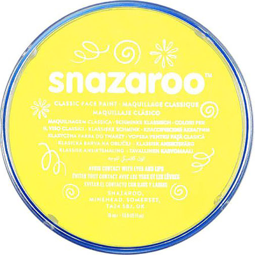 Pale Yellow Snazaroo Face Paint