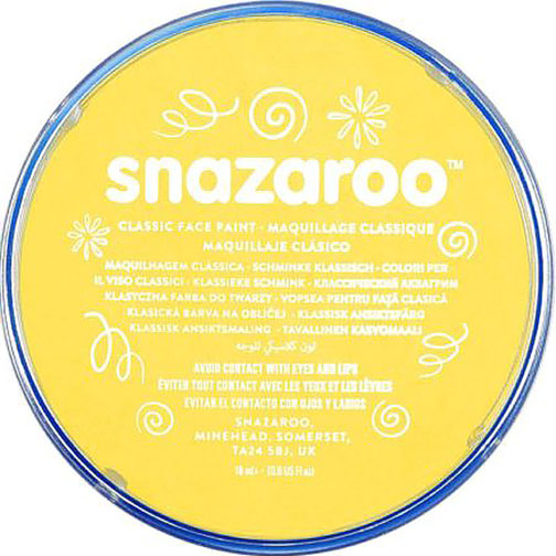 Bright Yellow Snazaroo Face Paint