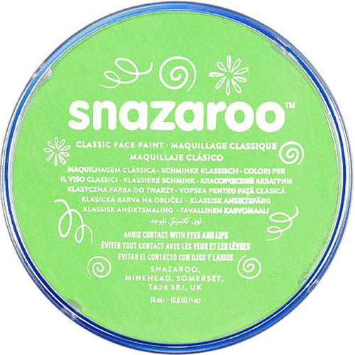 Lime Green Snazaroo Face Paint
