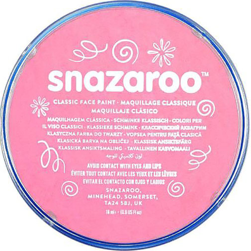 Pale Pink Snazaroo Face Paint