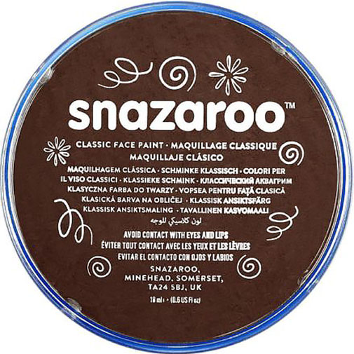 Dark Brown Snazaroo Face Paint