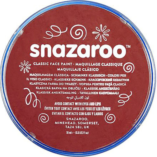 Burgundy Snazaroo Face Paint