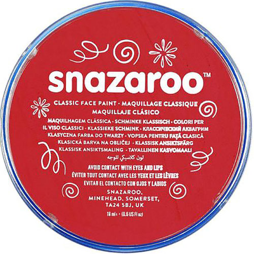 Bright Red Snazaroo Face Paint