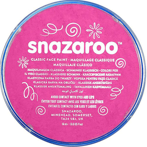 Bright Pink Snazaroo Face Paint