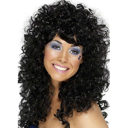 Boogie Babe Wig (Black)