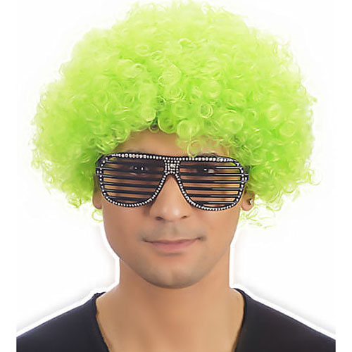 Clown Pop Wig (Green)