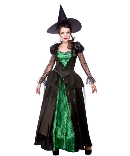 Emerald Witch Queen Costume
