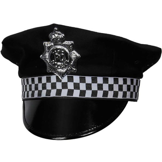 Policeman Hat With Badge