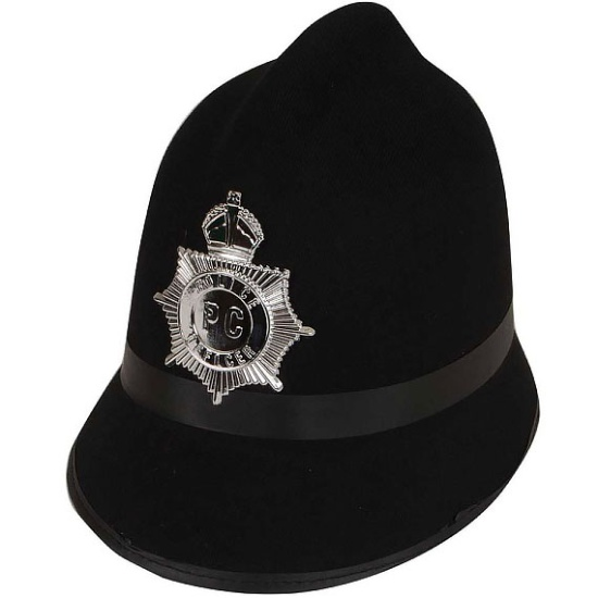 Traditional Police Helmet