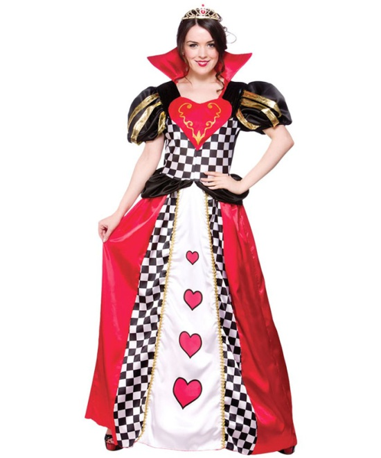 Fairytale Queen Of Hearts Costume