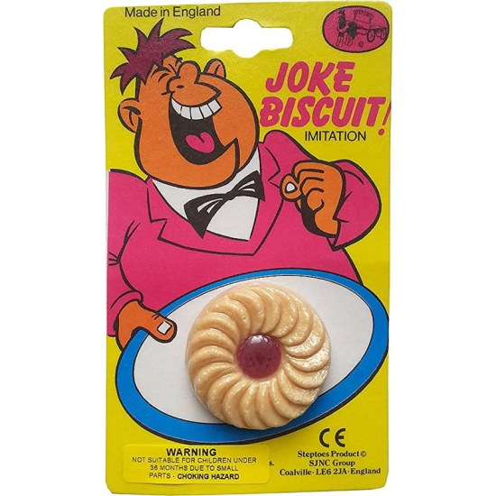Jammy Dodger Joke Biscuit