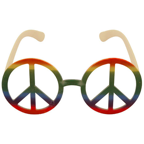 Rainbow Hippie Glasses