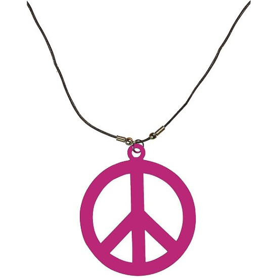 Hippie Necklace (Pink)