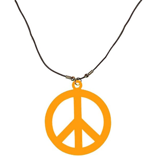 Hippie Necklace (Orange)