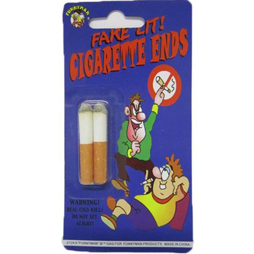 Fake Lit Cigarette Ends