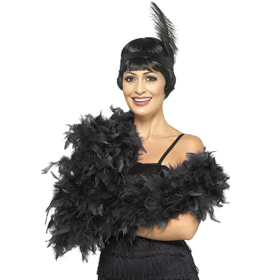 Feather Boa (Black)