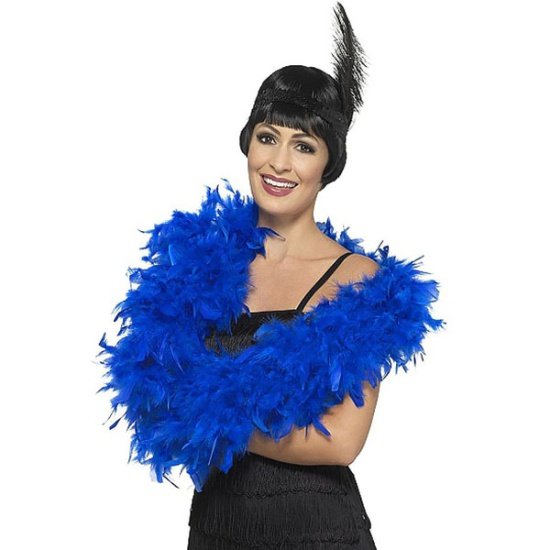 Feather Boa (Electric Blue)
