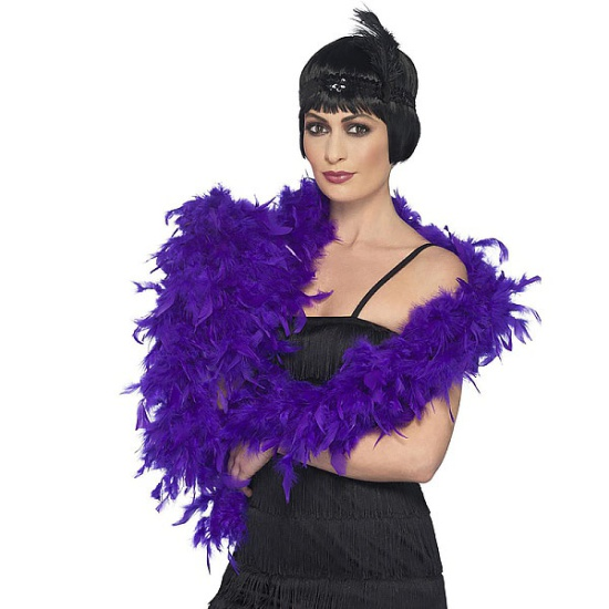 Feather Boa (Purple)