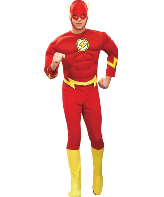 Classic Flash Muscle Chest Costume