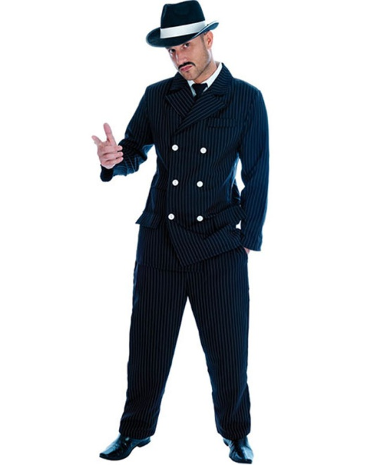 Gangster Costume (Black)