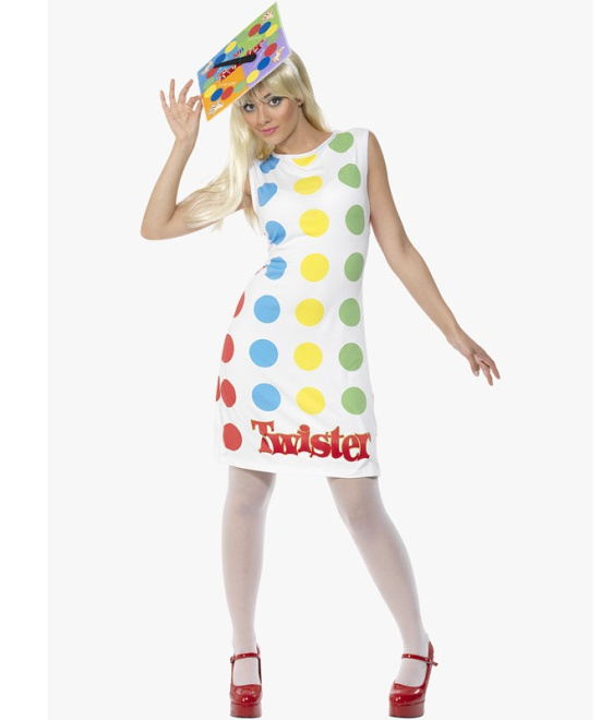 Twister Dress and Hat