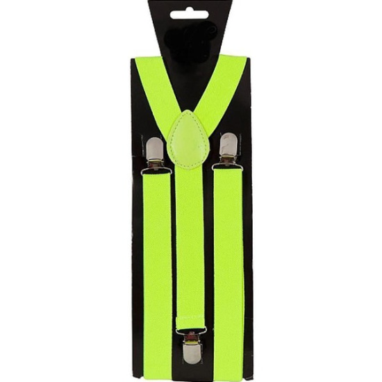 Neon Braces (Yellow)
