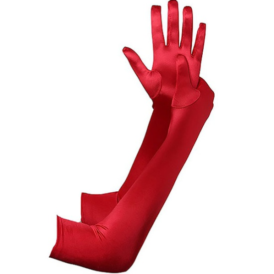 Long Gloves (Red)