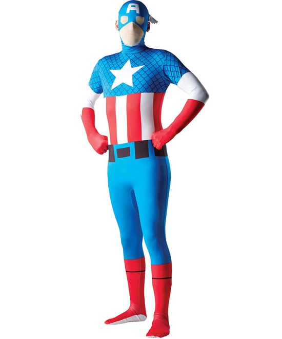 Captain America 2nd Skin Costume