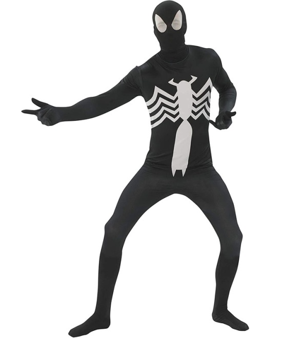 Black Spiderman 2nd Skin Costume