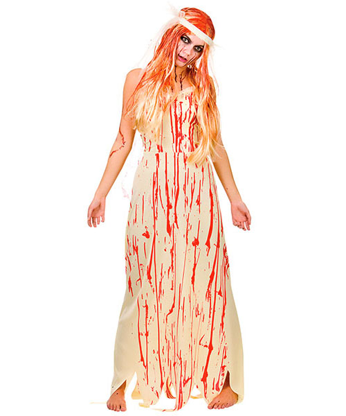 Blood Covered Bride Costume