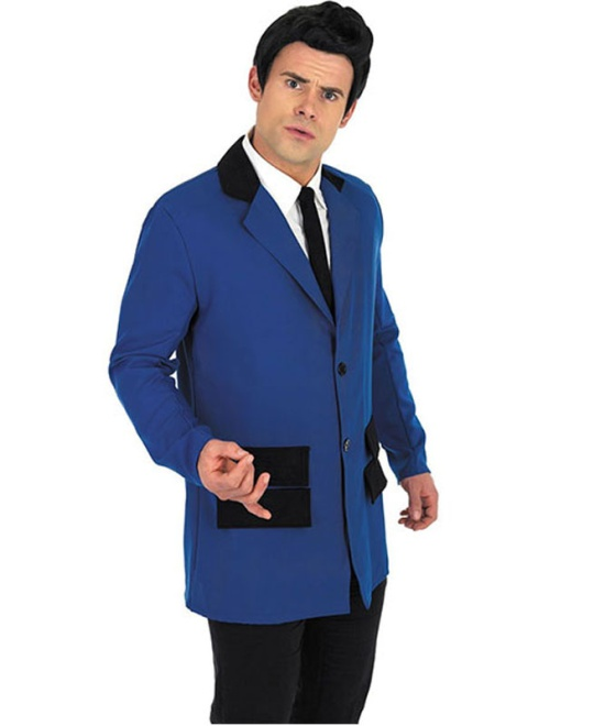 Teddy Boy Costume (Blue)