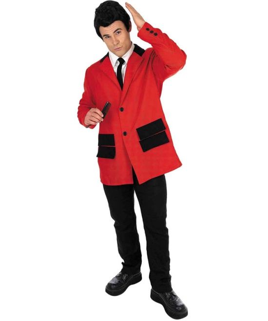 Teddy Boy Costume (Red)