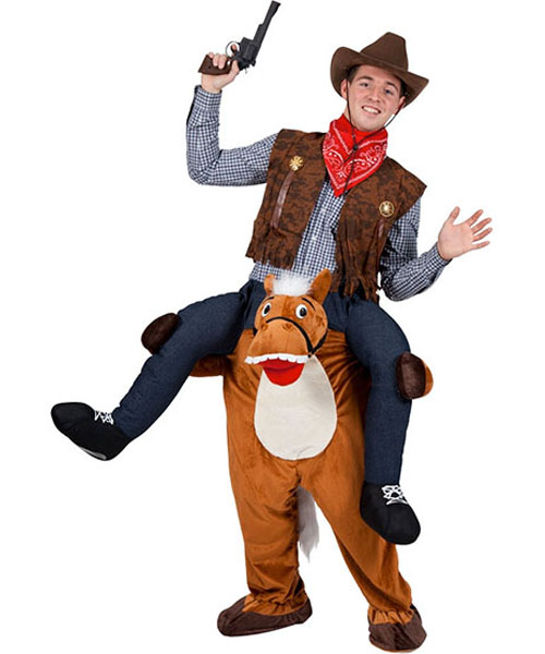 Carry Me Horse Costume