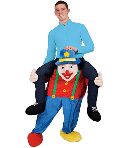 Carry Me Clown Costume