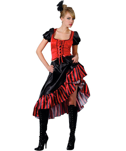Can Can Saloon Girl  Costume