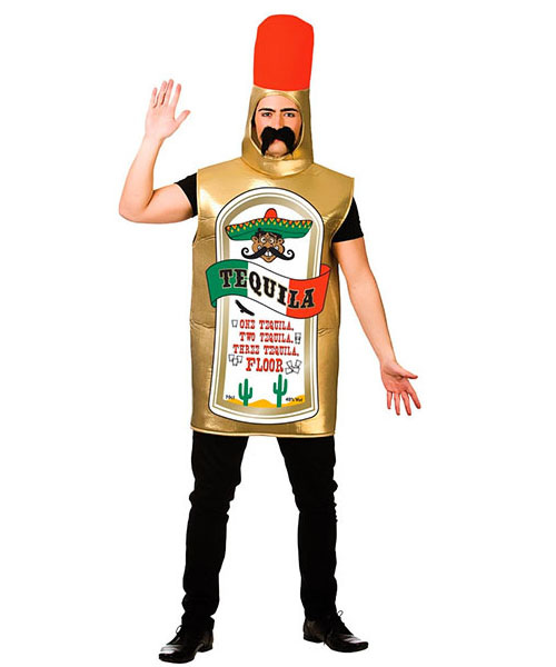 Tequila Bottle Adult Costume Costume