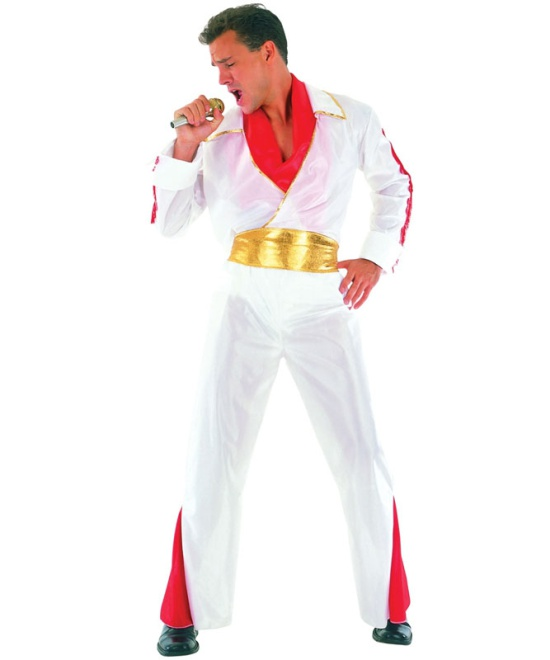 Rock Star Elvis Costume