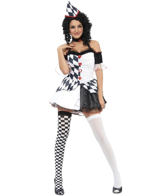 Harlequin Female Costume
