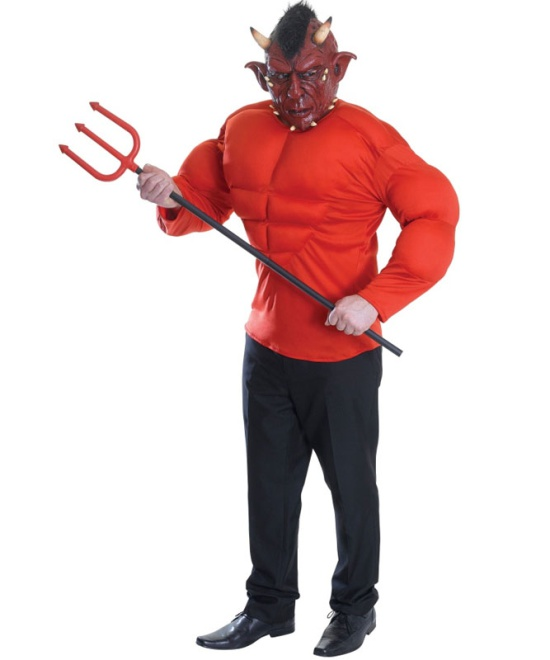 Devil (Padded Top) Costume