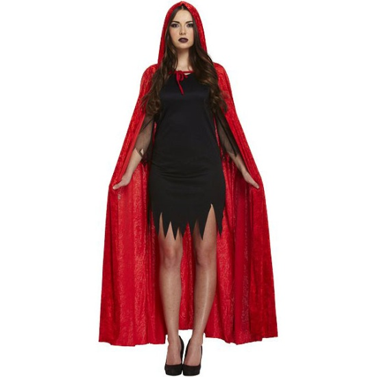 Hooded Cape (Red)