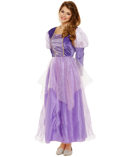 Long Hair Princess Costume