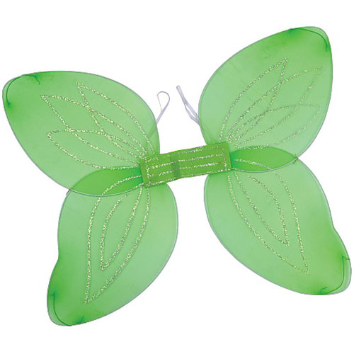Green Angel Wings
