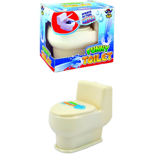 Squirting Toilet