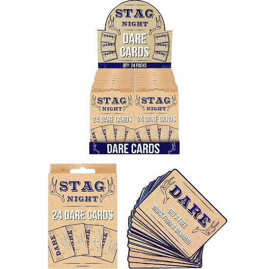 Stag Dare Cards