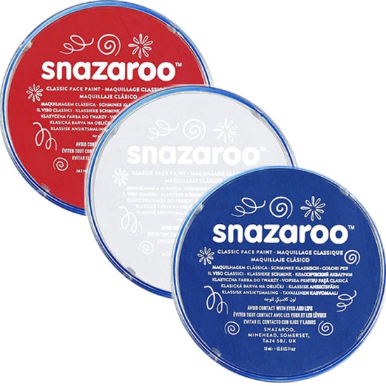 American Snazaroo Face Paint Set