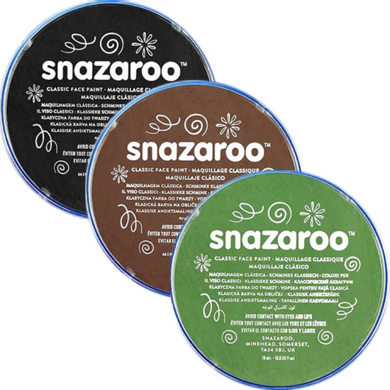 Army Snazaroo Face Paint Set